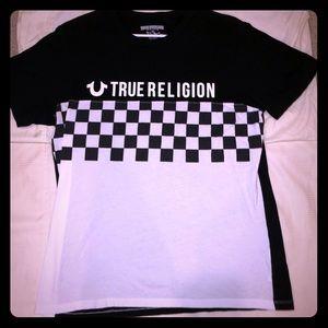 Flawless True Religion T-shirt! Checkered!